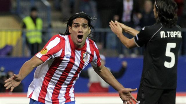 Atletico 4-2 Valencia - Football - Europa League
