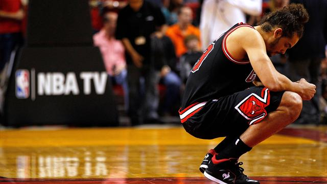 Noah out with ankle injury - Basketball