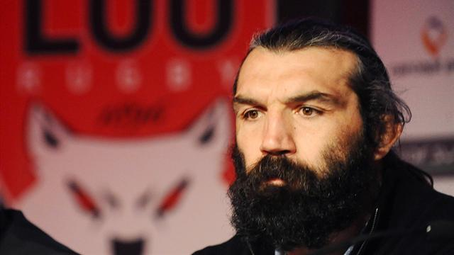 Chabal arrive à Lyon - Rugby - Top 14