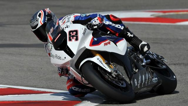 Melandri edges Checa in Misano practice