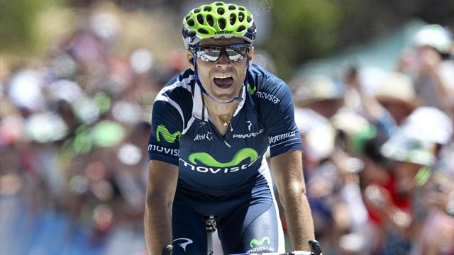 Valverde leads Movistar - Cycling - Tour de France
