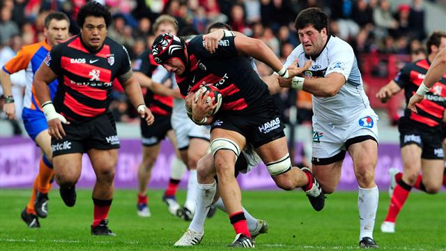 Toulouse a souffert - Rugby - Top 14