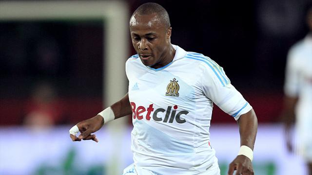Andre Ayew refutes Marseille exit reports