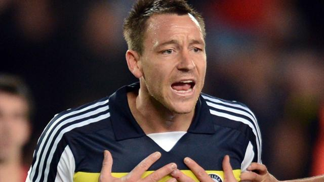 Terry says sorry for red - Football - Champions League