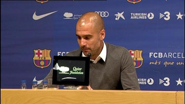 Guardiola leaves Barcelona - Football - Liga