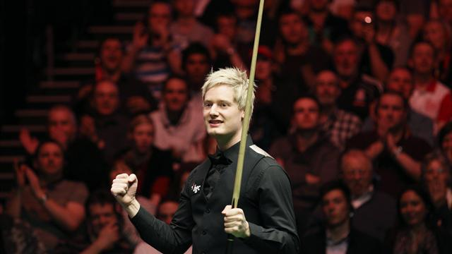 Robertson wins opener - Snooker