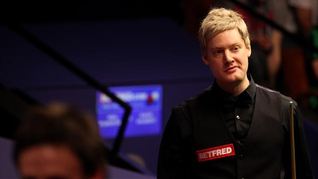 Robertson crashes out - Snooker