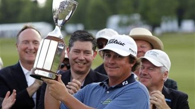 Dufner beats Els in New Orleans play-off