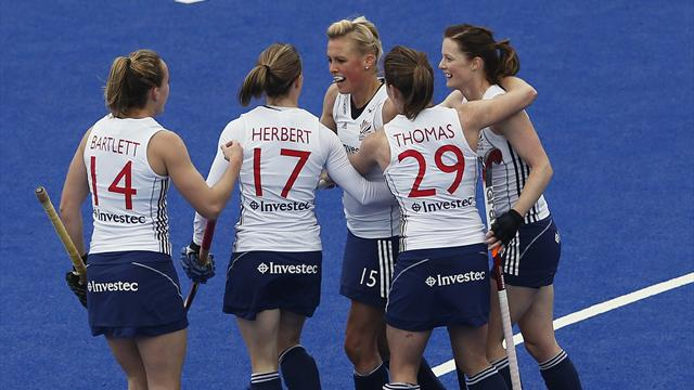 GB women win opener - Olympic Games - London 2012