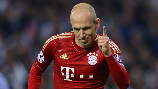 Robben awaits final - Football - Champions League