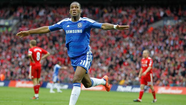 Drogba: First of two  - Football - FA Cup
