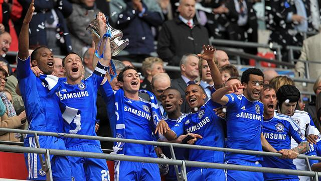 Chelsea win the FA Cup - Football - FA Cup
