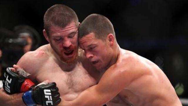 Nate Diaz shines in UFC - Mixed Martial Arts