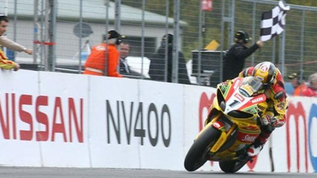 Hill wins at Oulton Park to open lead