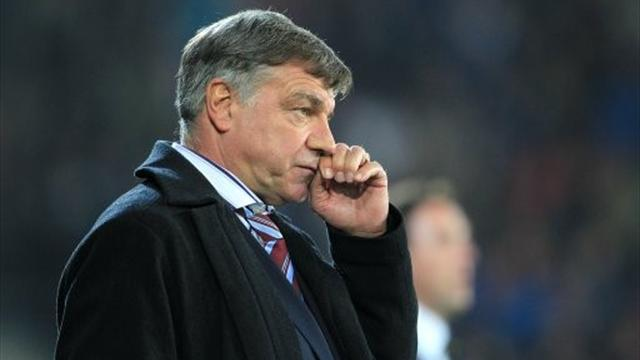 Allardyce fears final favourites tag
