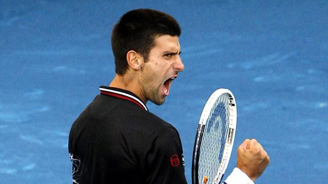 Djokovic advances - Tennis - Madrid Masters