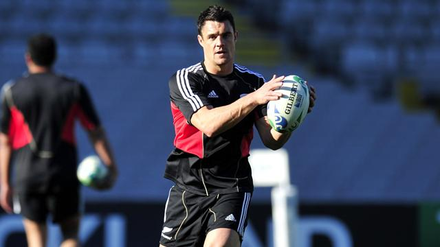 NZ: Carter au centre ? - Rugby - Test Match