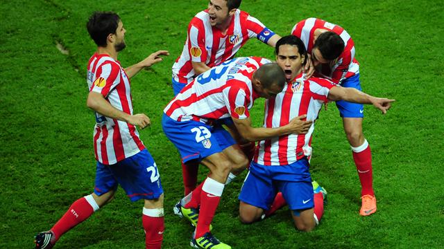 Atletico 3-0 Athletic - Football - Europa League