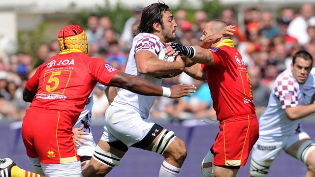 Le spectacle de Bordeaux - Rugby - Top 14
