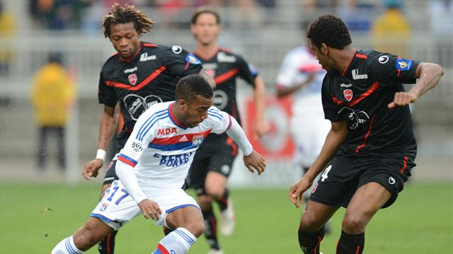 Lacazette prend date - Football - Ligue 1