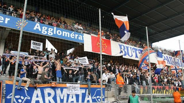 Montpellier Herauld supporters
