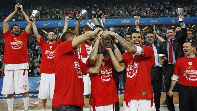 Olympiacos wins final - Basketball - EuroLeague
