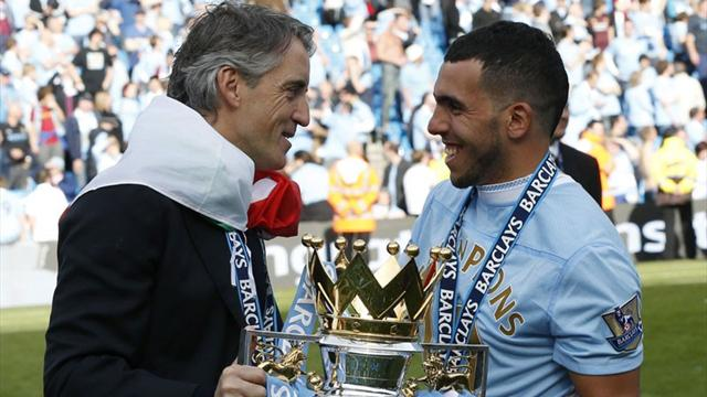Mancini wants Tevez stay