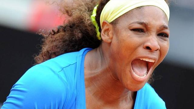 Serena confident of French - Tennis - French Open