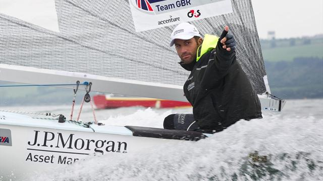 Ainslie set for warm-up - Sailing