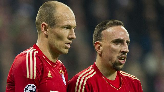 Robben and Ribery friends - Football - Bundesliga