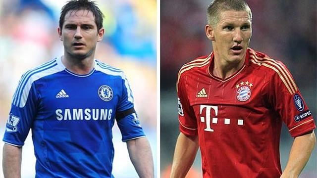 Bayern v Chelsea: Head-to-head