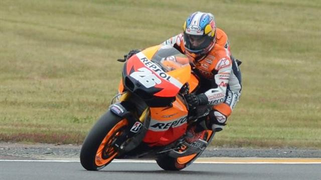 Pedrosa fastest again - Motorcycling