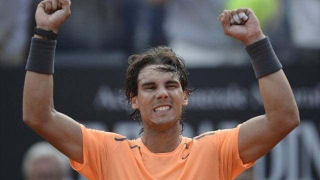 Nadal regains Rome Masters title
