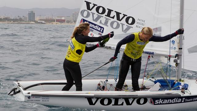 Mills and Clark grab gold - Sailing