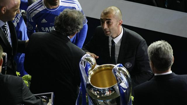 Di Matteo in dark - Football - Champions League
