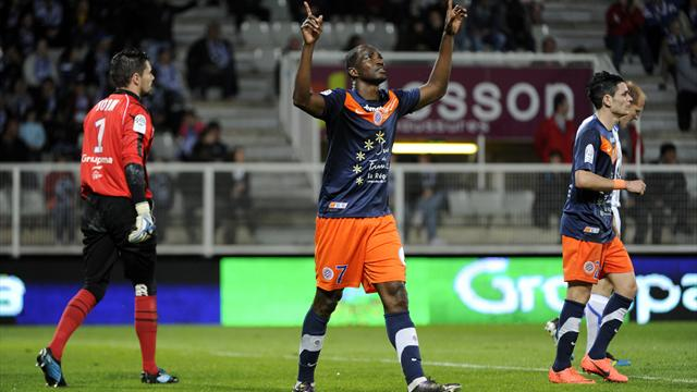 Montpellier win title after chaotic finish