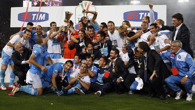 Napoli win Coppa - Football - Serie A