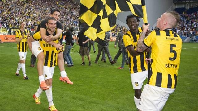 Vitesse win Dutch European play-off