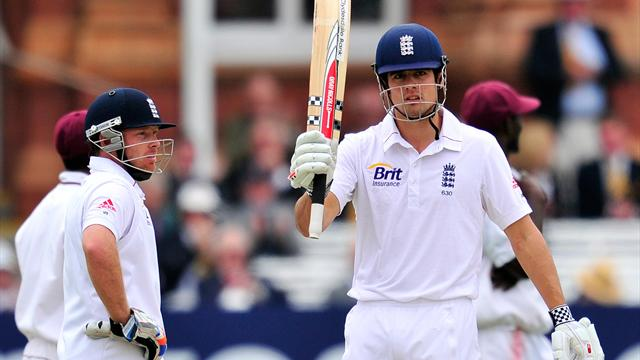Cook and Bell take England to victory