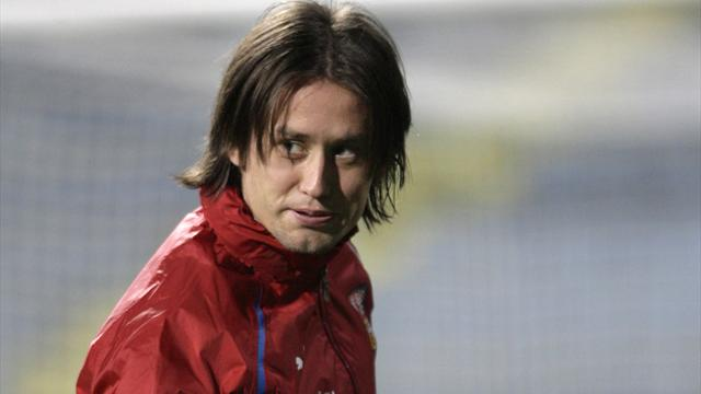 Rosicky out of Israel game - Football - Euro 2012