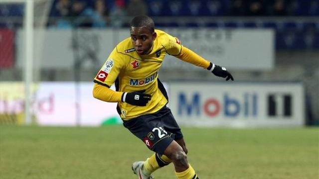 FOOTBALL Sochaux striker Cedric Bakambu