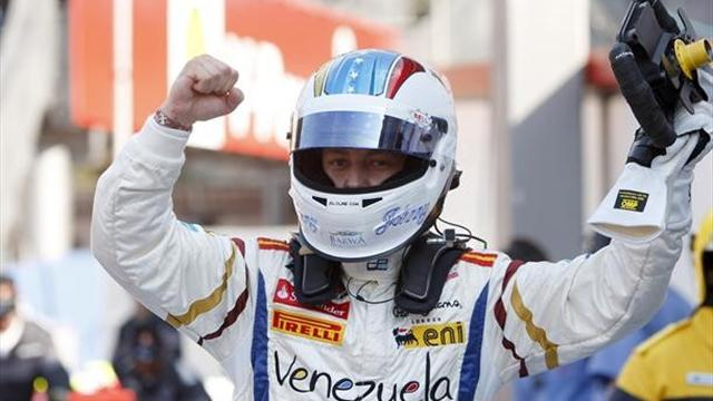 Cecotto claims shock pole - GP2