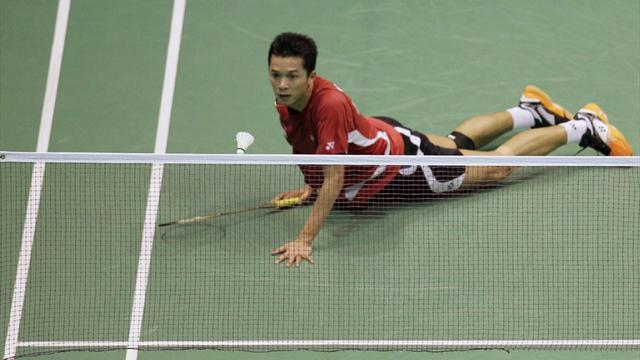 Hidayat in a huff  - Olympic Games - London 2012