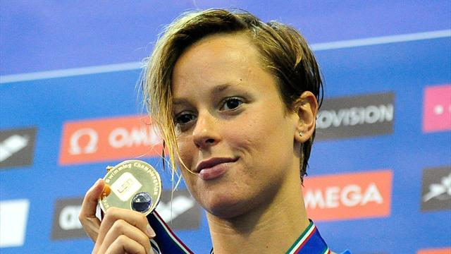 Pellegrini eases to gold - Swimming