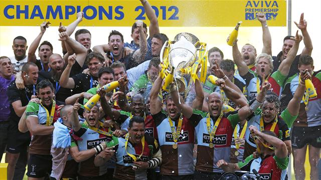 Harlequins win first title - Rugby - Aviva Premiership