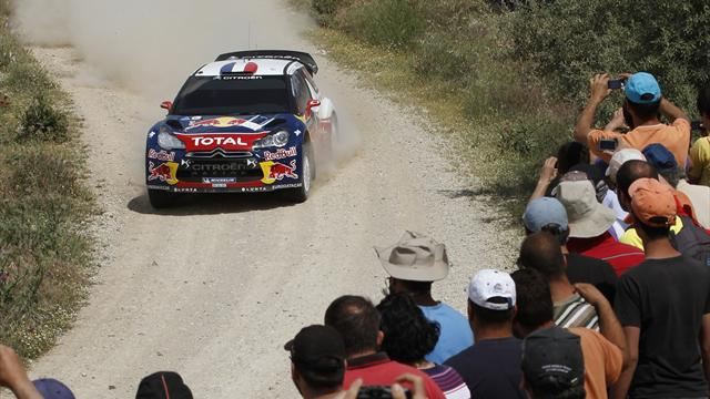 Loeb set for Acropolis victory