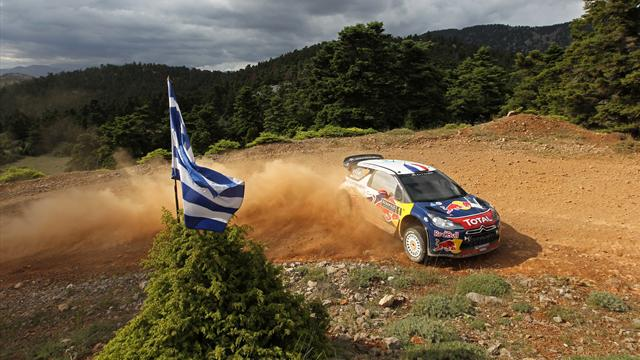 Loeb nära ny VM-titel - WRC - Rally Greece