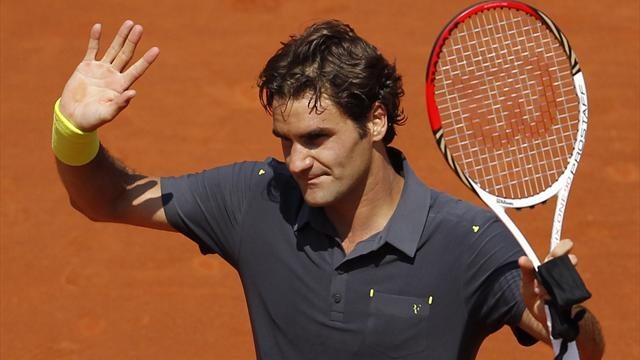 Men: Federer equals Slam record