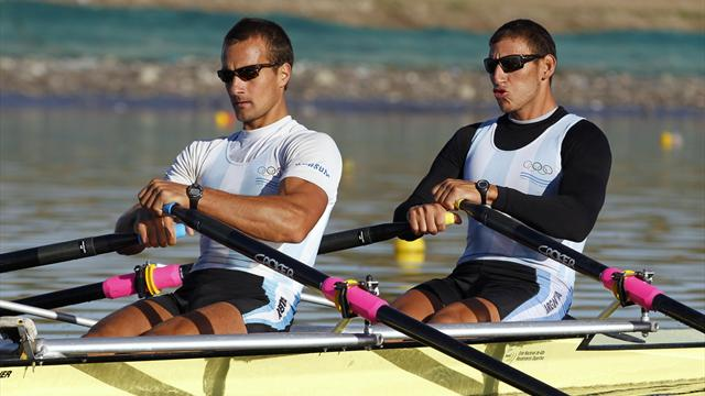 Argentine rowers ready - Olympic Games - London 2012