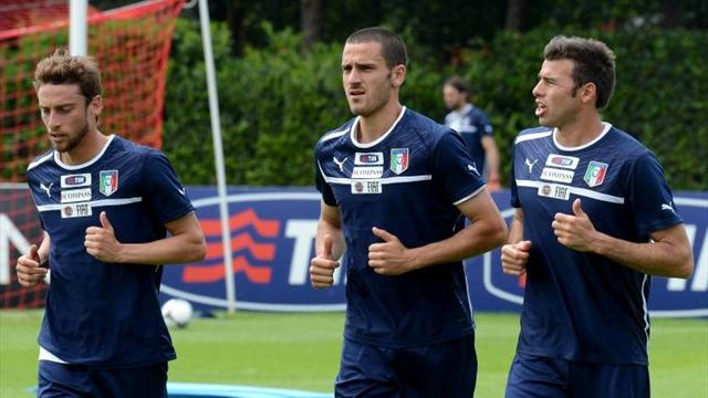Juve star Bonucci makes cut for Italy